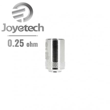 Résistance Joyetech NotchCoil 0.25 Ω pack de 5