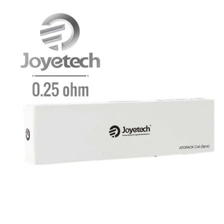 Résistance JVIC Joyetech Dolphin 0.25 Ω pack de 5