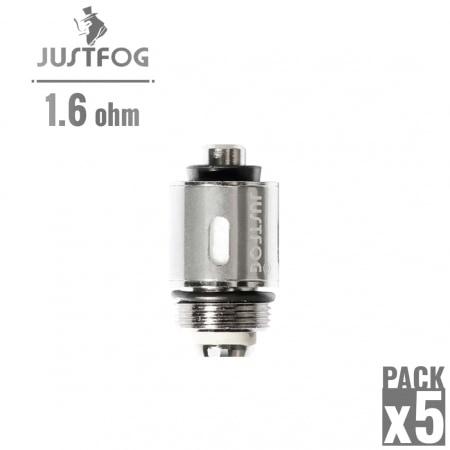 Résistance Justfog 1.6 Ω pack de 5