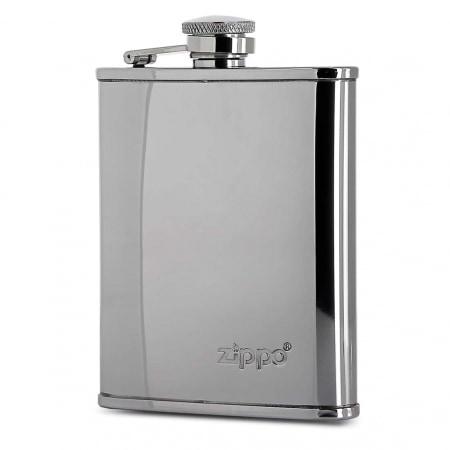 Flasque Alcool Zippo Chromée