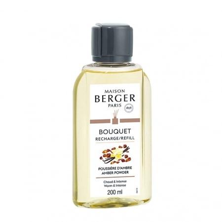 Recharge Bouquet Parfumé Maison Berger Poussière d'Ambre 200 ml
