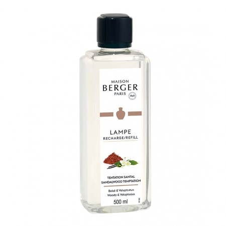 Parfum maison Lampe Berger Tentation Santal 500 ml