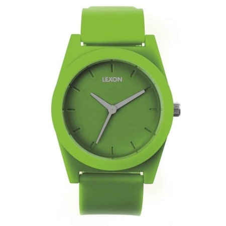 La Bonne Affaire - Montre Lexon Spring Large Verte