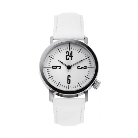 Montre Akteo Vintage 24 Heures blanche