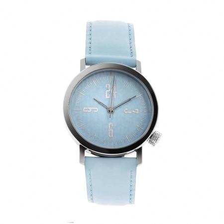 Montre Akteo Vintage 24 Heures bleue