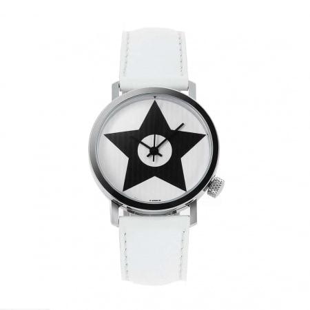 Montre Akteo Vintage Star blanche