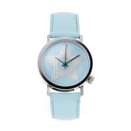 Montre Akteo Vintage Star bleue