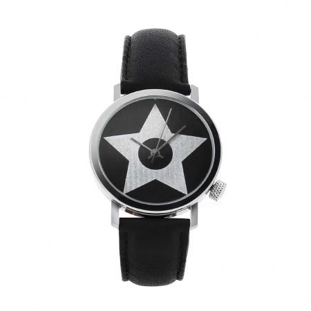 Montre Akteo Vintage Star noire