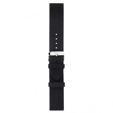 Bracelet Montre Silicone Noir lisse