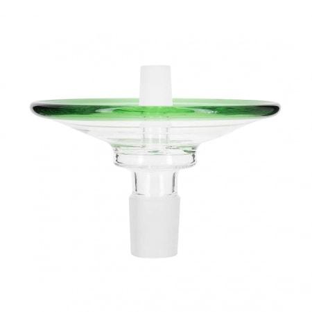 Cendrier pour Chicha en verre vert