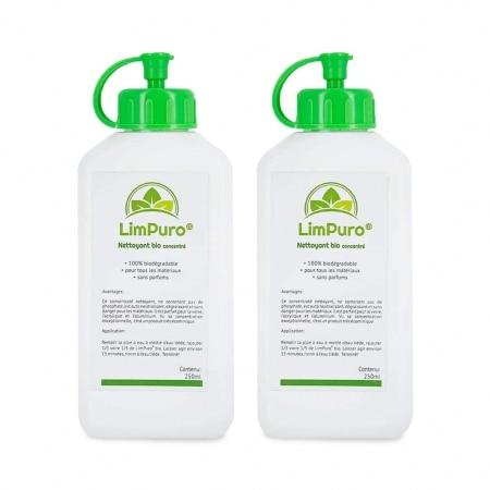 Liquide de nettoyage Bio Limpuro 250 ml x2