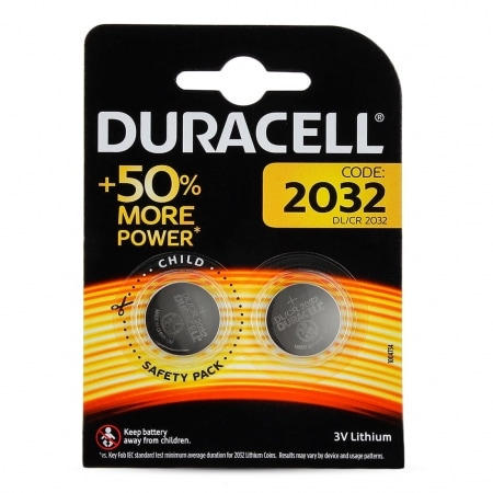 Pile Lithium Duracell CR2032 x 2