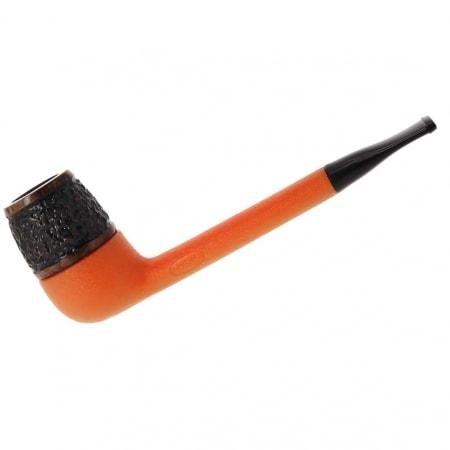 Pipe Nording Eriksen orange rustiquée