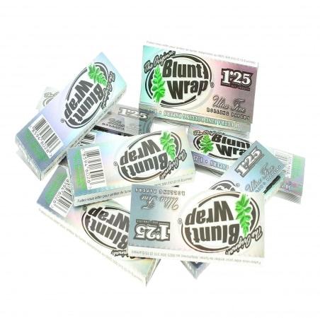 Papier à rouler Blunt Wrap Silver 1.25 x10