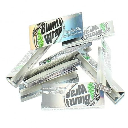 Papier à rouler Blunt Wrap Silver Slim x10