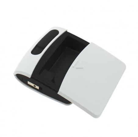 Briquet Sans Flamme USB Blanc Cendrier