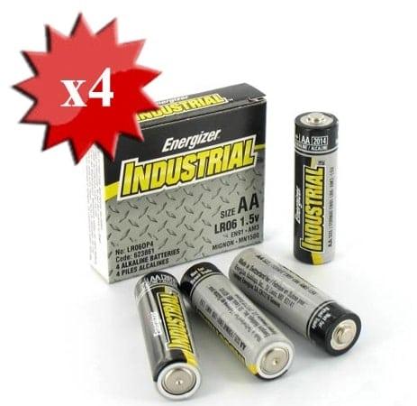 Pile LR6 AA energizer industriel x4