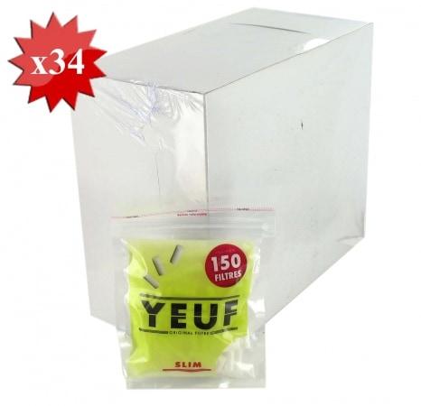 Filtres Yeuf Slim x 34 sachets