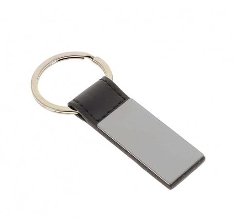 Set porte cartes et porte clés noir