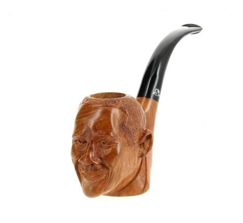 Pipe de Cogolin Sculptée Obama