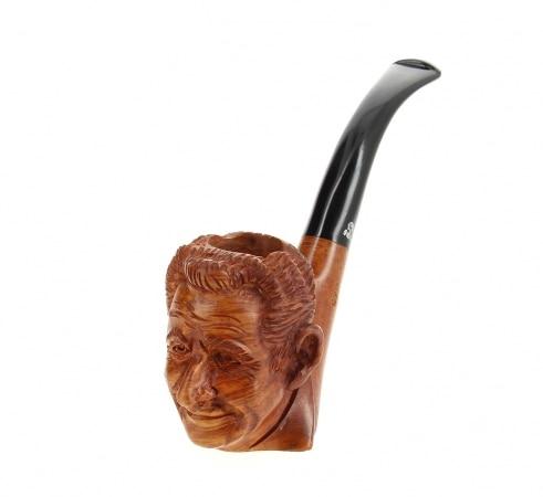 Pipe de Cogolin Sculptée Sarkozy