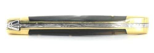 Couteau Laguiole Aveyron Corne Noire