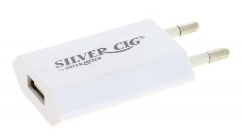 Chargeur E cigarette EGO Plat Blanc