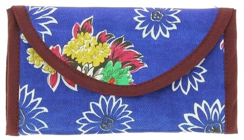 Blague à Paquet de Tabac Kimeko Collector Bleu Fleuri