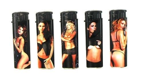 5 briquets électroniques Sexy Girls II