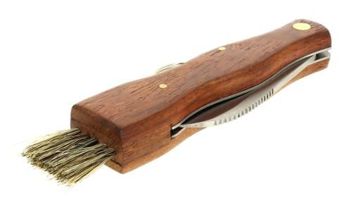 Couteau à champignon et son étui