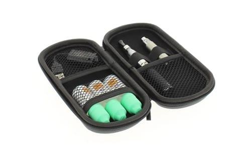Etui de transport eGo Noir pour cigarette electronique