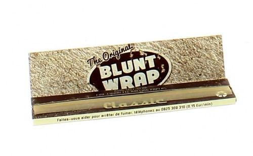 Feuille à rouler Blunt Wrap Classic Unbleached x1