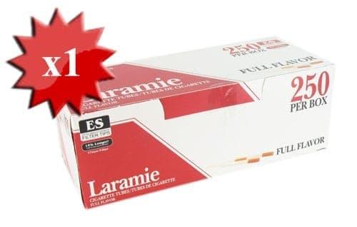 Boite de 250 tubes Laramie avec filtre