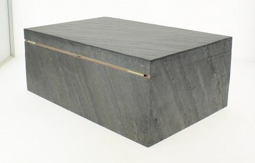 Cave à cigares - Adorini Black Slate Deluxe L