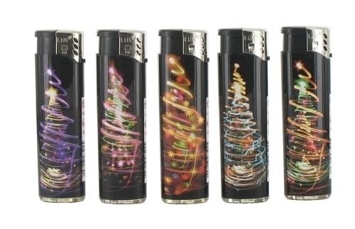 5 Briquets Electroniques Noel