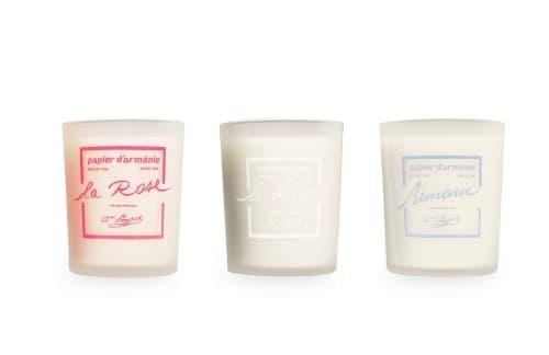 Bougie Parfumée papier d'Arménie