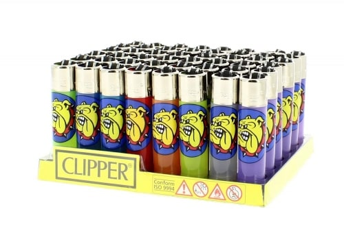 48 briquets Clipper The Bulldog