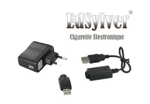 Chargeur Secteur pour cigarette électronique Edsylver