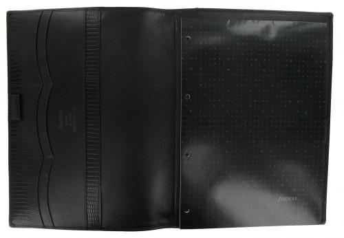 Porte-Bloc Notes Filofax A4 Luxe Marron