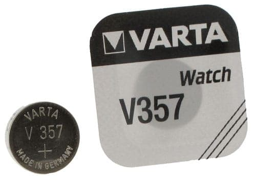 Pile Oxyde d'Argent Varta V357