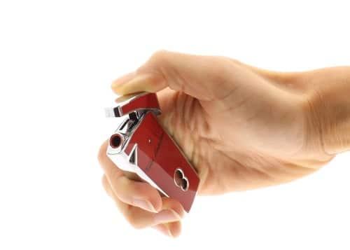 Briquet Lamborghini Magione Rouge
