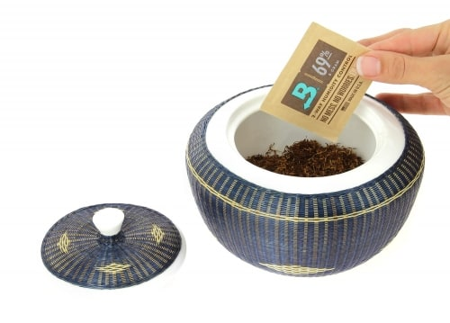 Système d\'Humidification Boveda pour Tabac à Pipe 69%