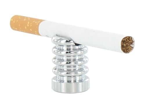Etouffoir avec Encoche pour Cigarette Chromé