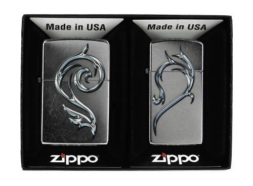 Zippo Heart Combo