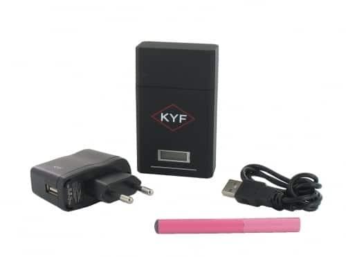 Cigarette électronique rose KYF Kit Box