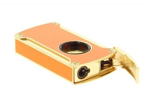 Briquet Electrique Winjet Orange et Doré