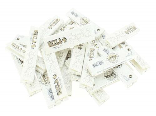Papier à rouler Rizla + Slim Pearl Blanc x 25