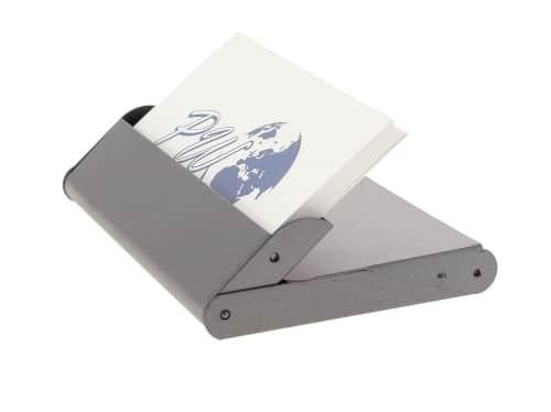 Porte cartes de visite Gris foncé