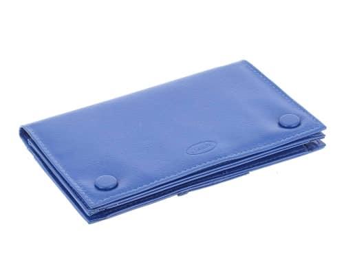 Blague à Tabac Cuir CC009 Bleu