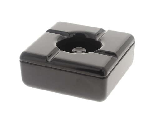 Cendrier design noir